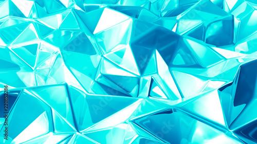 piekny-lazurowy-krystaliczny-tlo-3d-ilustracja-3d-rendering