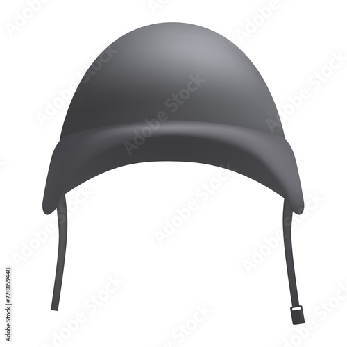 Grey helmet mockup Wallpaper Mural