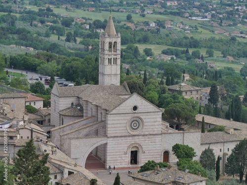 Poster Monument Assisi - basilica Santa Chiara