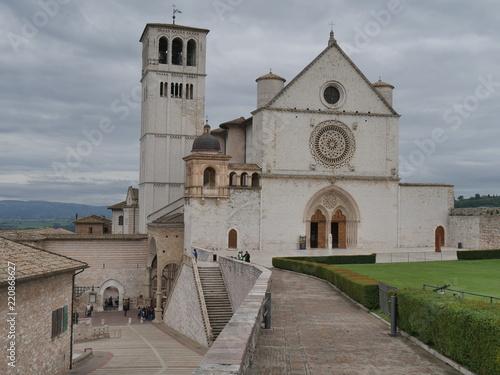 Fototapeta Assisi - basilica di San Francesco