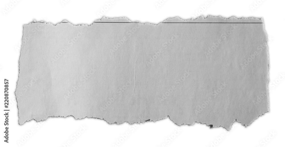 Fototapety, obrazy: Torn paper piece