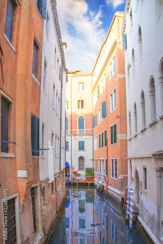 Recess Fitting Channel Beautiful view of one of the Venetian canals in Venice, Italy