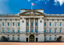 Buckingham Palace Facade On A ...