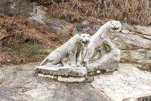 Tiger Statue Near Kaesong DPRK