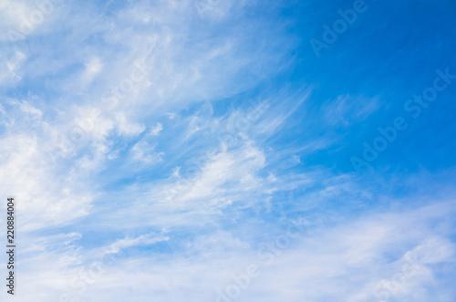 Chmurnego nieba tła fotografia, chmur pierzastych chmury