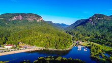 Aerial View Of Lake Lure, Nort...