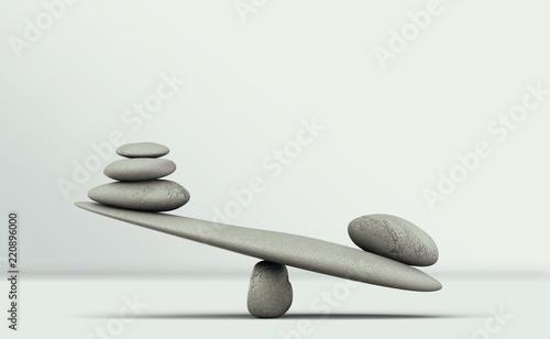 Balance. Tablou Canvas