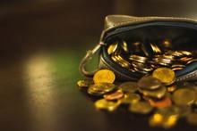 Coin Purse Falling