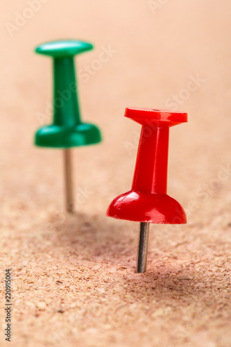 Pin board texture for background and colorful pins - Buy