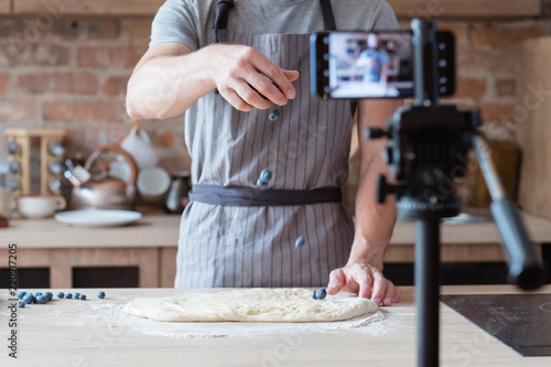 Fotografering  online culinary show