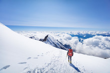 Trekking To The Top Of Mont Bl...