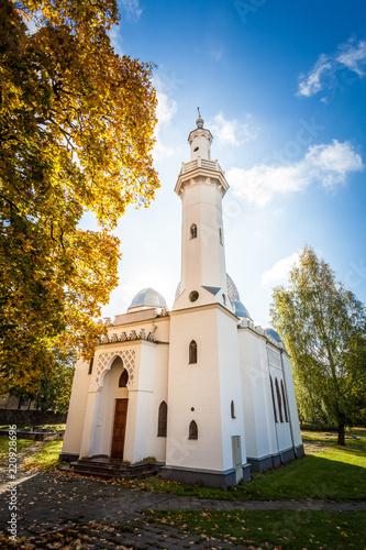 Fotografie, Obraz  Muslim mosque in Kaunas city, Lithuania