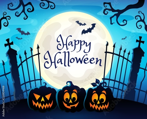 Happy Halloween composition image 7