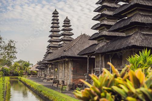 Traditional balinese hindu Temple Taman Ayun in Mengwi. Bali, Indonesia