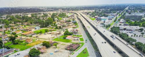 Fotografia Panorama aerial view highway 90 (U