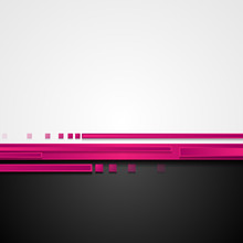 Pink And Black Hi-tech Abstract Corporate Background