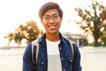 Picture Of Joyful Asian Male S...