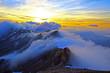 Sonnenuntergang auf der Blümlisalp