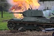 Tank T-26 (light Soviet Tank)