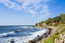 View Of Finishing Hamlet On West Coast Of Bornholm Island - Helligpeder, Denmark