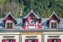 Chamonix Mont Blanc Train Station, The Alps, France