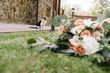 Beautiful summer wedding bouquet A gorgeous wedding bouquet.