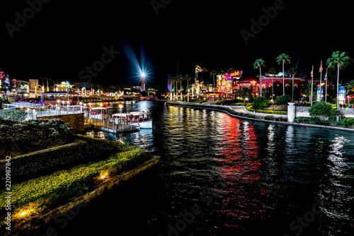 Photo  ORLANDO, FLORIDA, USA - DECEMBER, 2017: Highlights of Universal Studios entrance