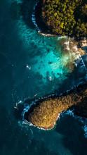 Blue Lagoon En La Isla De Bali, Indonesia.