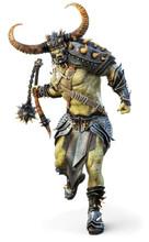 Savage Orc Brute Leader Runnin...