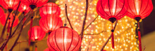 Chinese Lanterns During New Ye...