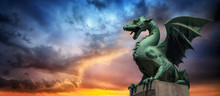 Evening View Of The Dragon Bri...
