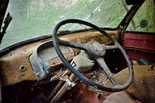 An Abandoned Old Van