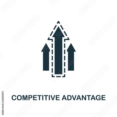 Competitive Advantage icon Wallpaper Mural