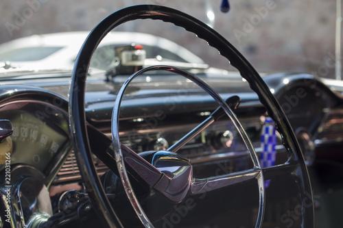 Photo  Vintage Car Interior
