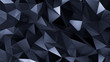 Blue crystal background with triangles. 3d illustration, 3d rendering.