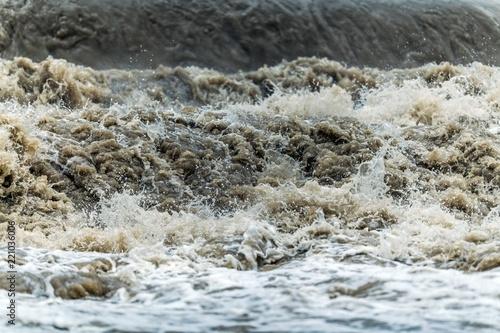 Flood Wave Water Disaster Tableau sur Toile