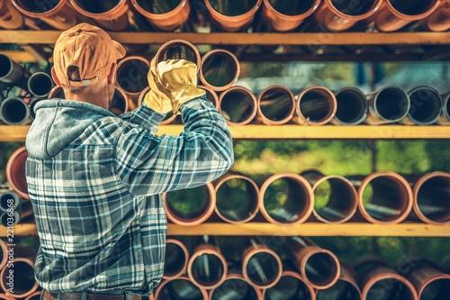 Fényképezés  Septic System Pipes