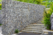 Wall Stone With Steel Net
