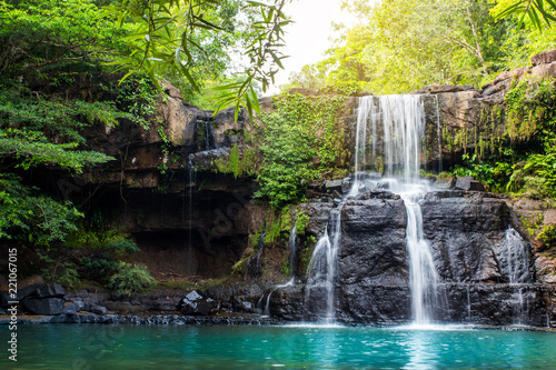 Recess Fitting Waterfalls Waterfall in Thailand.
