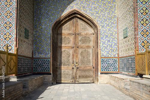 Spoed Foto op Canvas Historisch geb. The Khudayar Khan Palace is the most popular landmarks of Fergana Valley. Kokand, Uzbekistan.