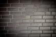 Mauer Wand Ziegelsteine Textur Hintergrund mit Vignette