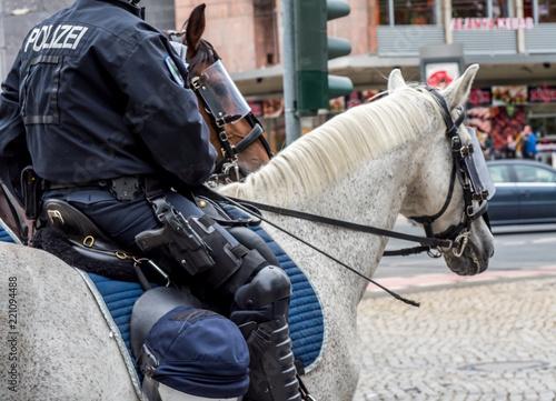 Fotografía  Polizei Reiterstaffel
