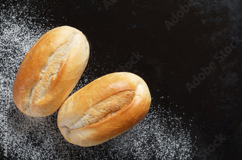 Fotografie, Obraz  Loaves of small wheat bread