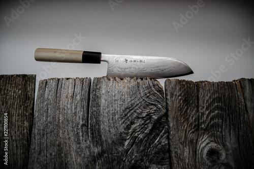 Photo Damastmesser Küchenmesser knife