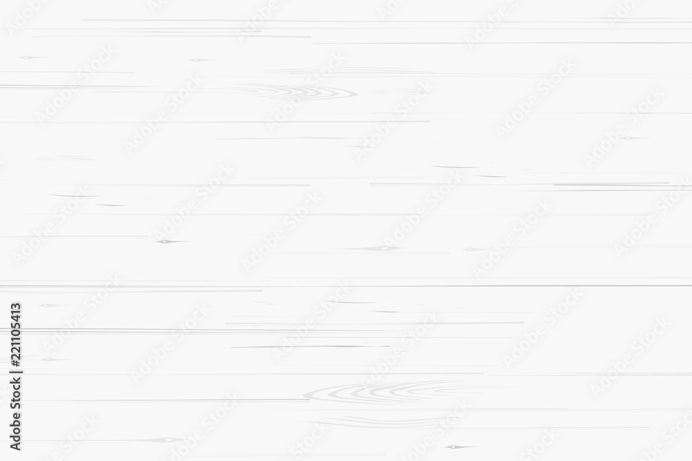 Fototapety, obrazy: White wood pattern and texture for background. Vector.