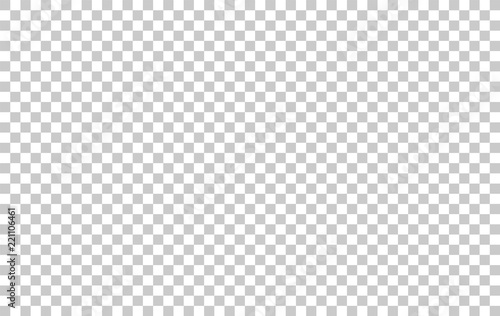 Transparent grid pattern for background. Vector. Fotobehang