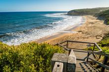 Bells Beach On The Great Ocean...