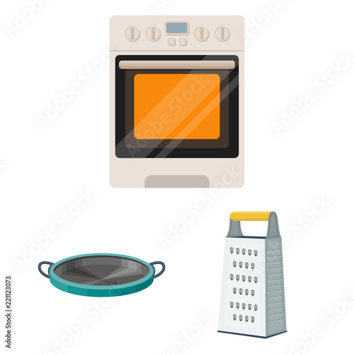 3d vector microwave oven with glass