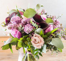Nice Flowers In The Vase