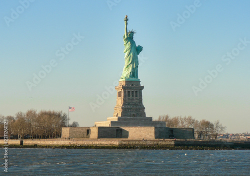 Foto op Aluminium New York Statue of Liberty, New York City
